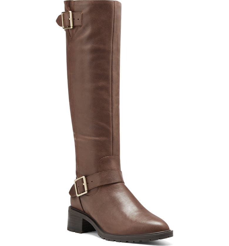 SOLE SOCIETY Jarney Knee High Boot, Main, color, VINTAGE COGNAC LEATHER