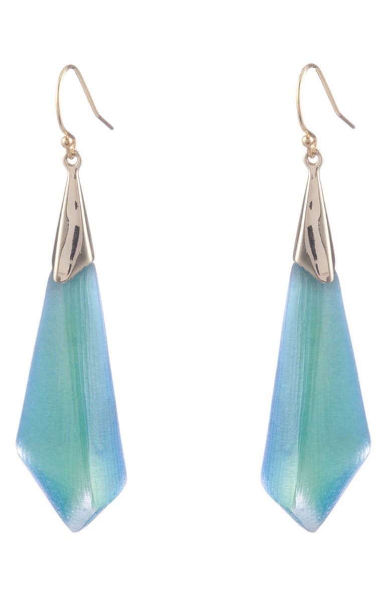 ALEXIS BITTAR Faceted Drop Earrings, Main, color, 440
