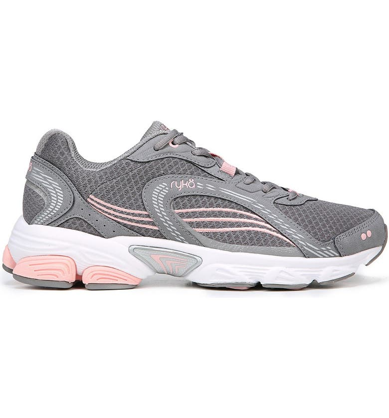 RYKA Ultimate Sneaker - Wide Width Available, Main, color, GRY/ROSE/SLV