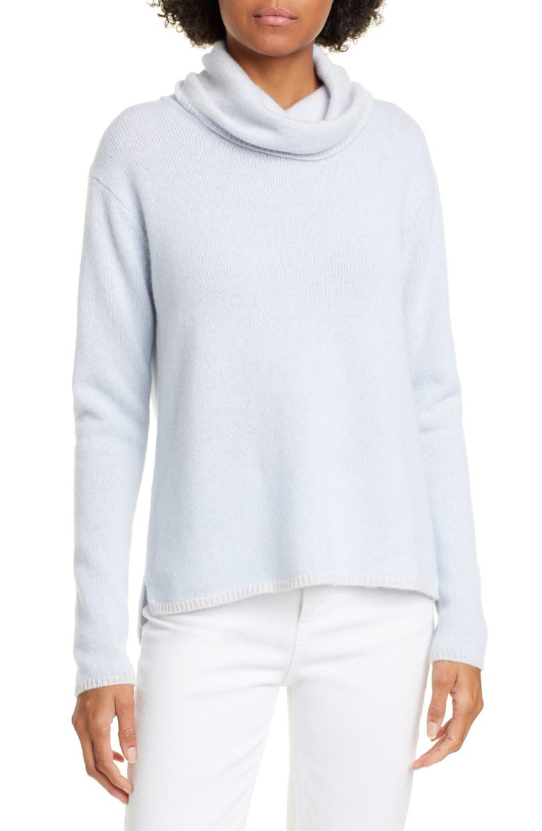 KINROSS Cowl Neck Cashmere Sweater, Main, color, 463