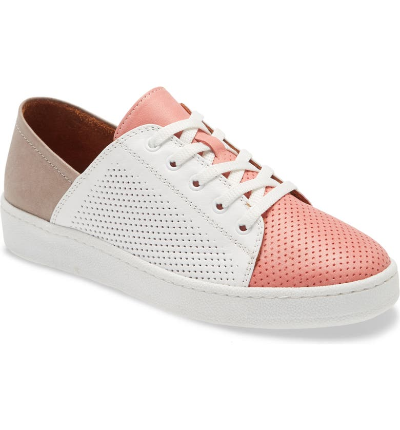 SHERIDAN MIA Rudie Leather Sneaker, Main, color, BLUSH LEATHER