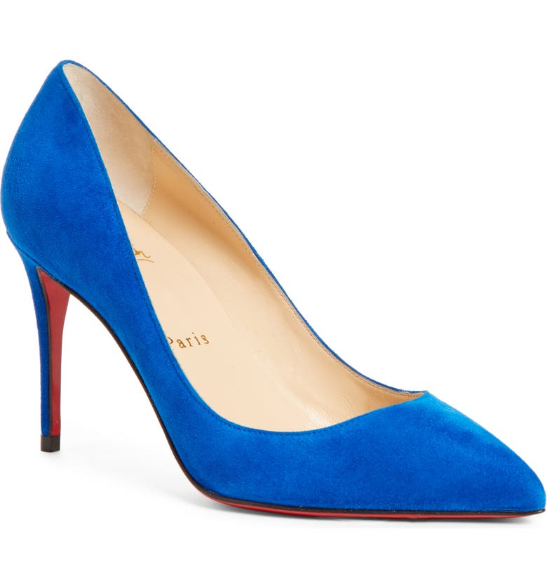 CHRISTIAN LOUBOUTIN Pigalle Follies Pointed Toe Pump, Main, color, 490