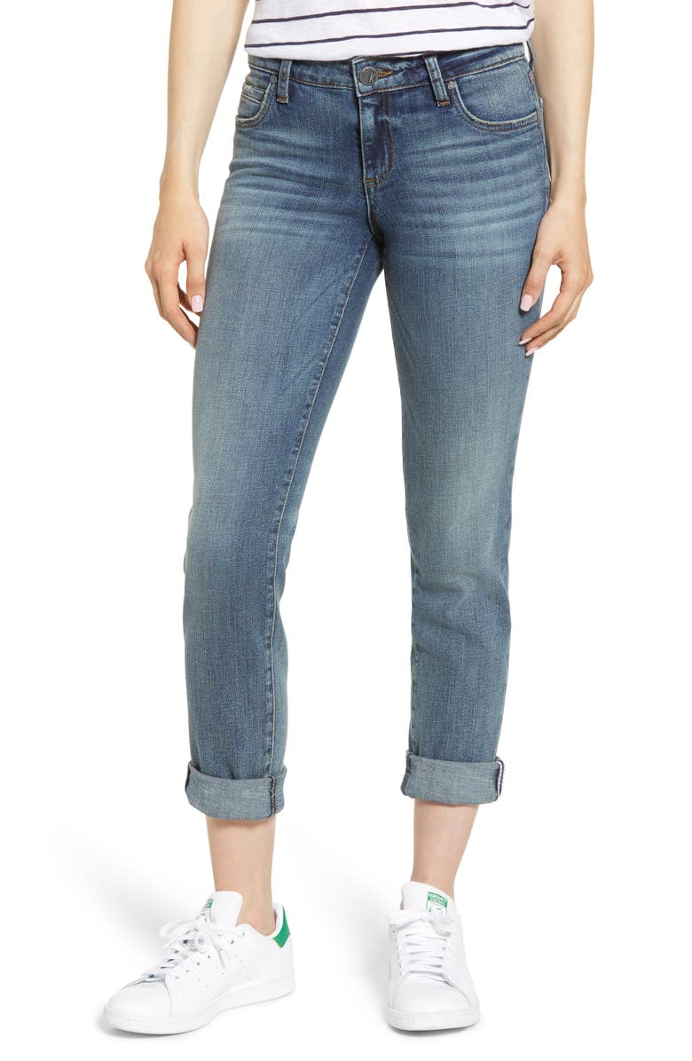 KUT FROM THE KLOTH Catherine Boyfriend Jeans, Main, color, ACHIEVER