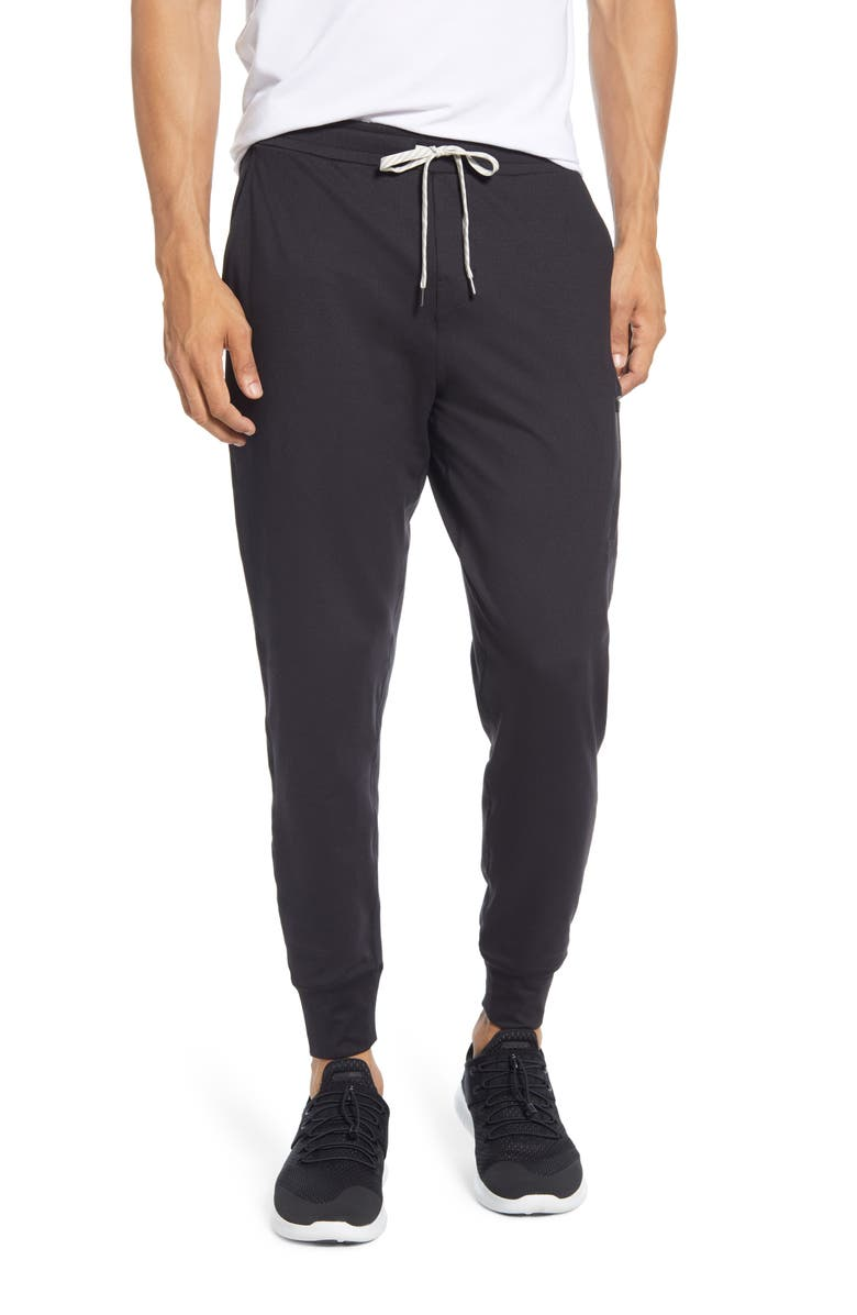 VUORI Sunday Performance Jogger Sweatpants, Main, color, BLACK