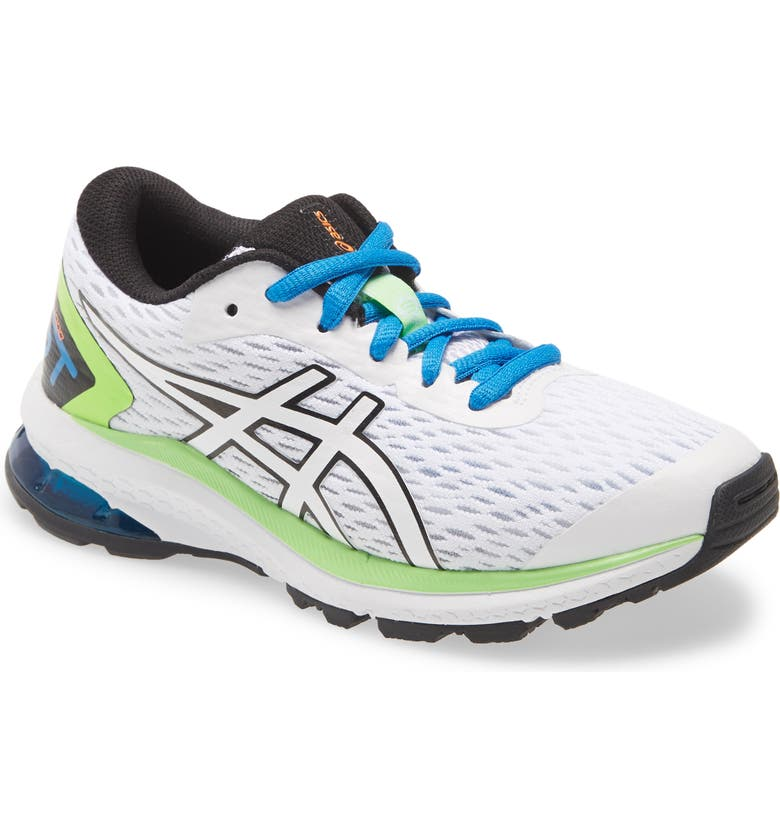 ASICS<SUP>®</SUP> GT-1000 9 PS Running Shoe, Main, color, WHITE/ BLACK