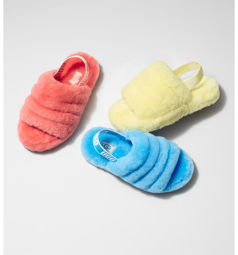 UGG<SUP>®</SUP> Fluff Yeah Slide Sandal, Main, color, 600
