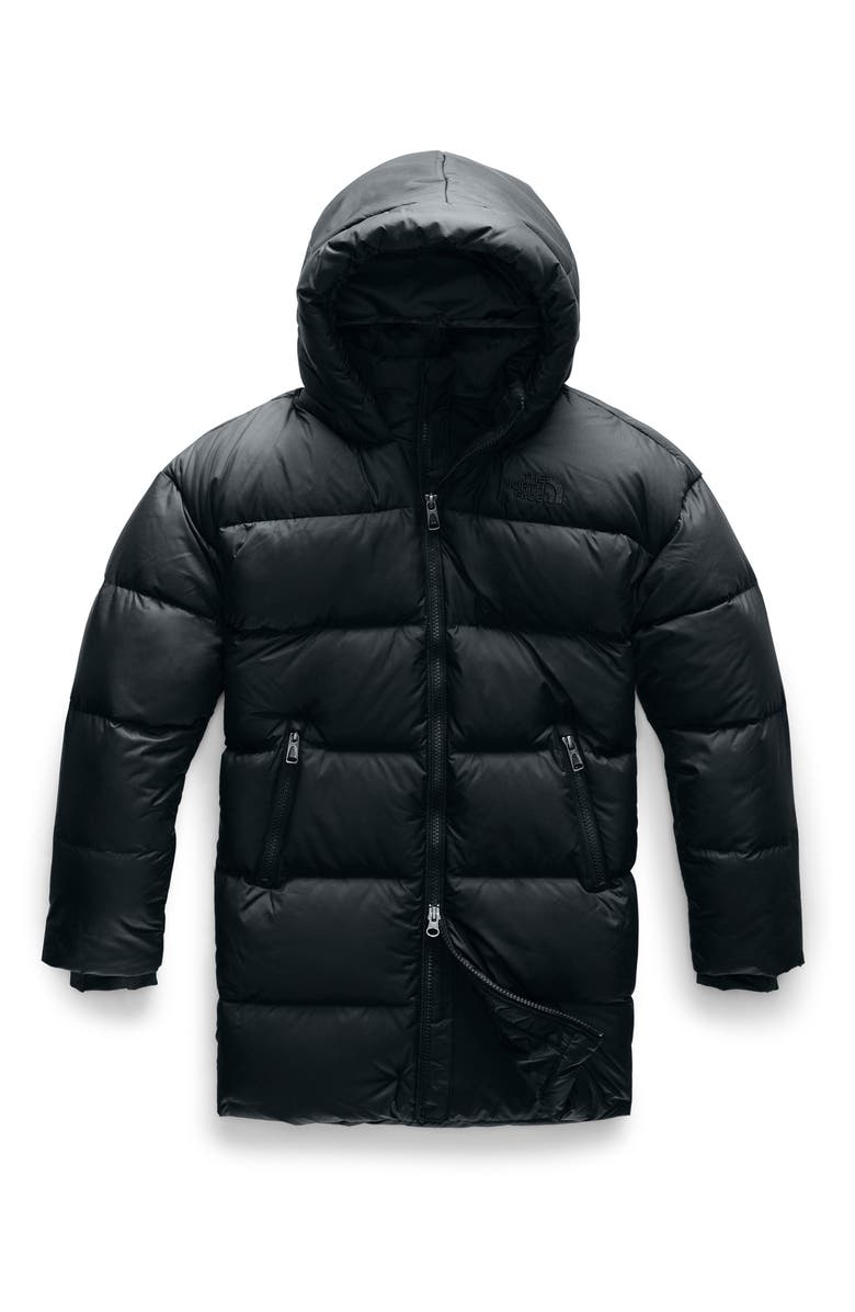 THE NORTH FACE Gotham 550 Fill Power Down Parka, Main, color, 001