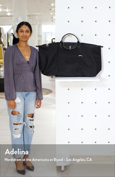 Extra Large Le Pliage Club Travel Tote, sales video thumbnail