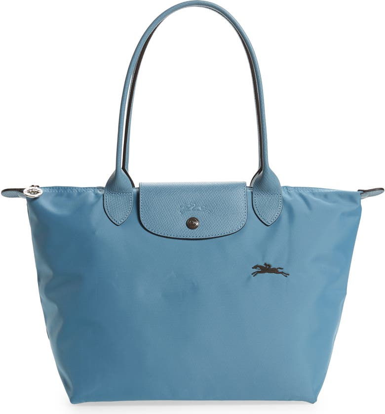 LONGCHAMP Le Pliage Club Small Shoulder Tote, Main, color, NORWAY