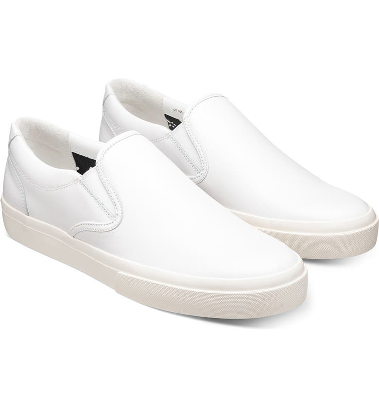 GREATS Wooster Slip-On Sneaker, Main, color, BLANCO LEATHER
