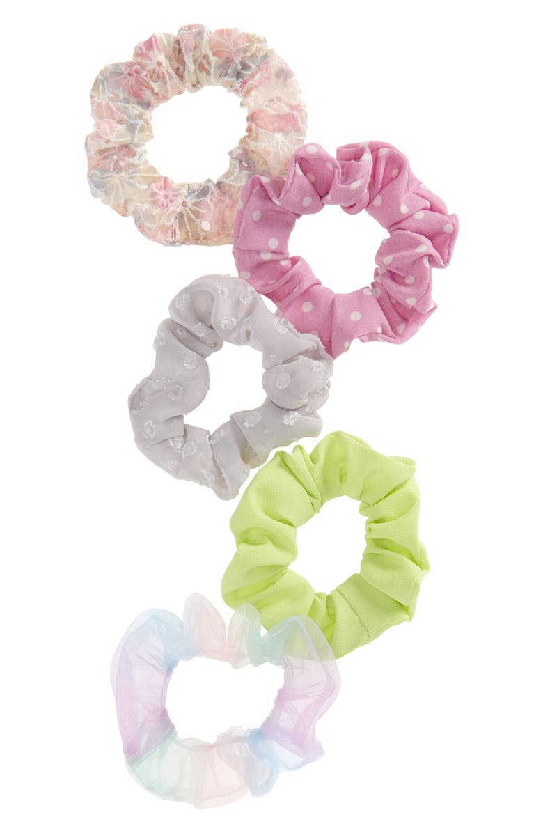 BP. 5-Pack Assorted Scrunchies, Main, color, 510