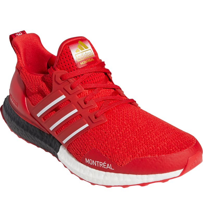 ADIDAS Ultraboost DNA Montreal Sneaker, Main, color, SCARLET
