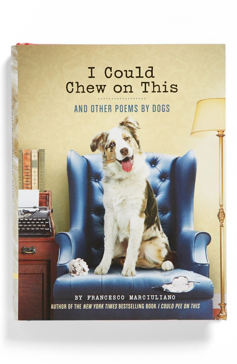 CHRONICLE BOOKS 'I Could Chew on This' Poetry Book, Main, color, 700
