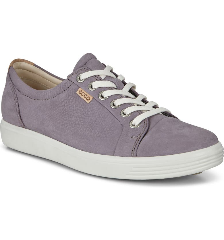 ECCO Soft 7 Sneaker, Main, color, DUSK LEATHER