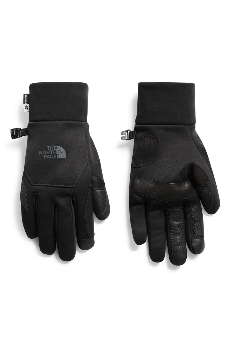 THE NORTH FACE Commuter Gloves, Main, color, BLACK