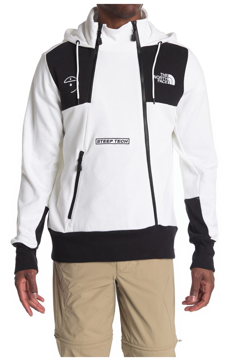THE NORTH FACE Steep Tech Hoodie, Main, color, TNF WHITE