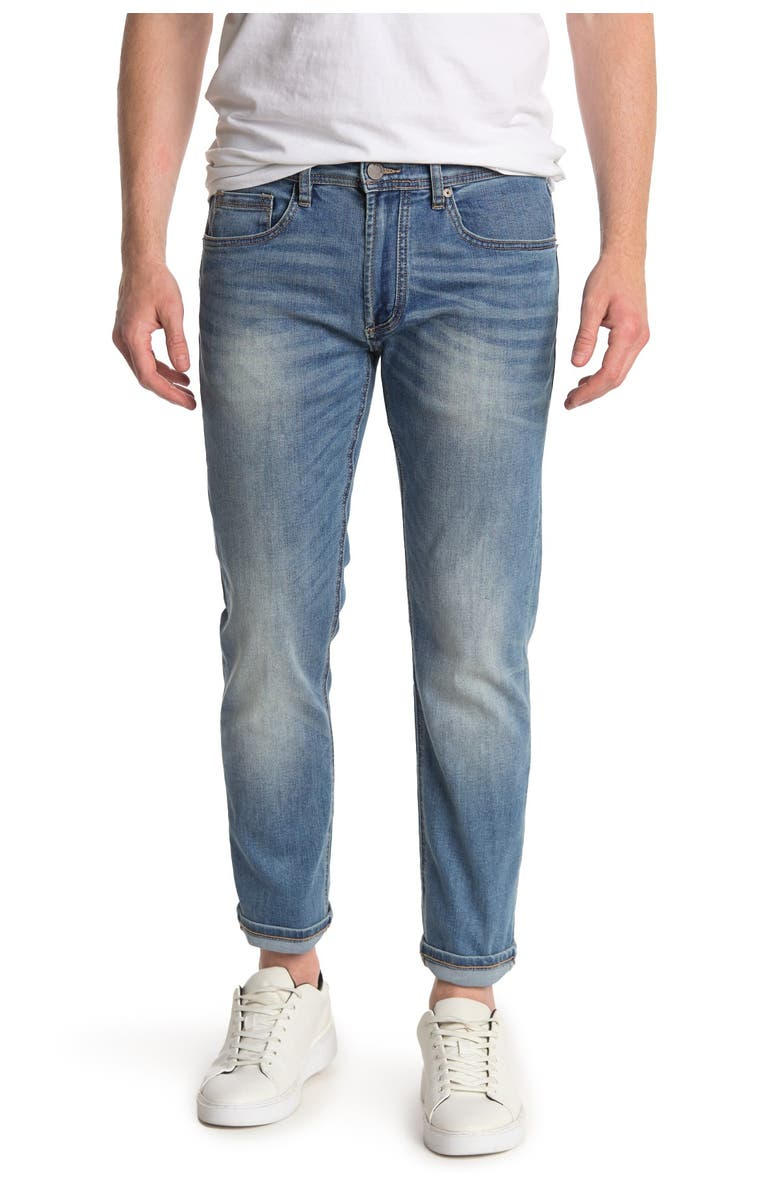 BLANKNYC Horatio Skinny Jeans, Main, color, EGO SURFING