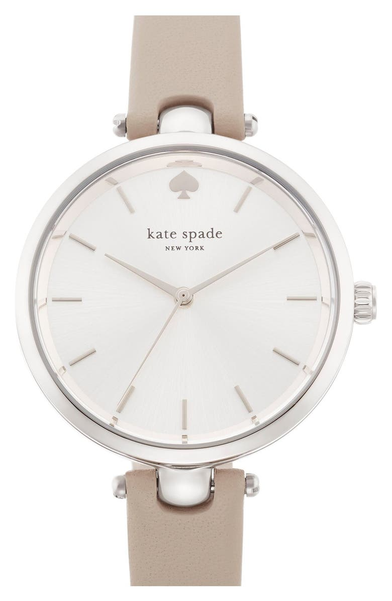 KATE SPADE NEW YORK 'holland' round watch, 34mm, Main, color, 033