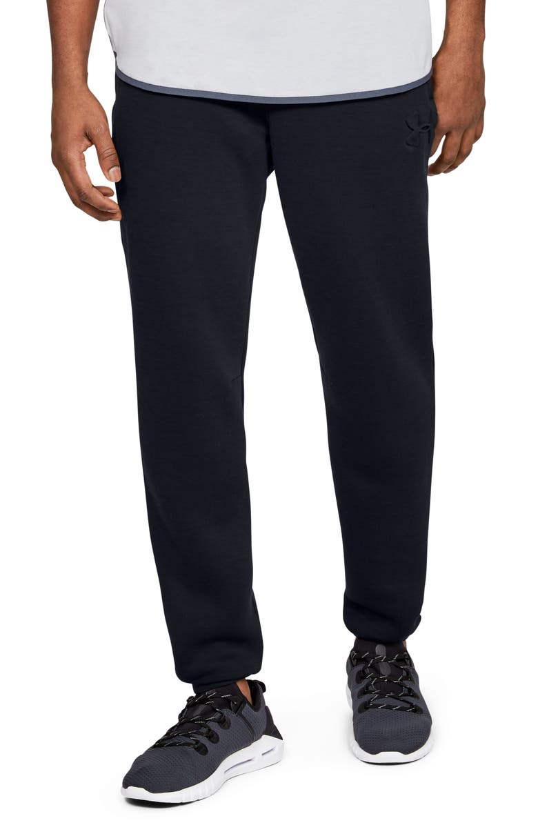 UNDER ARMOUR Unstoppable Move Light Performance Sweatpants, Main, color, 002