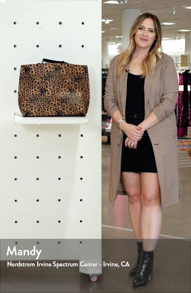 Reversible Faux Leather Tote, sales video thumbnail