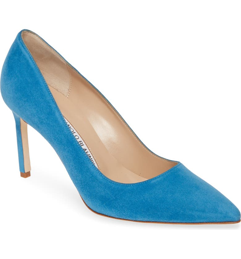 MANOLO BLAHNIK BB Pointed Toe Pump, Main, color, 402