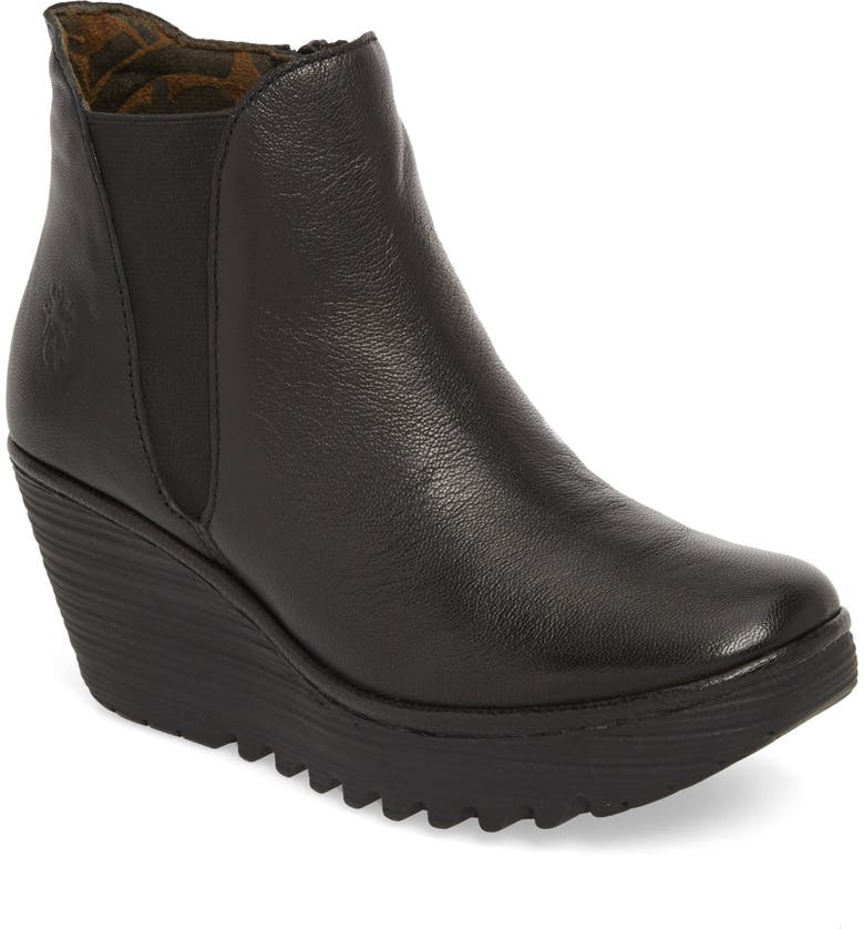 FLY LONDON Yozo Wedge Boot, Main, color, 001