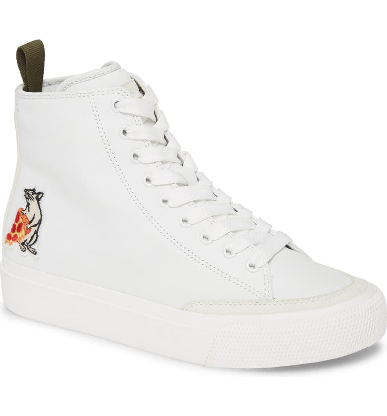 RAG & BONE Pizza Rat High Top Sneaker, Main, color, 101