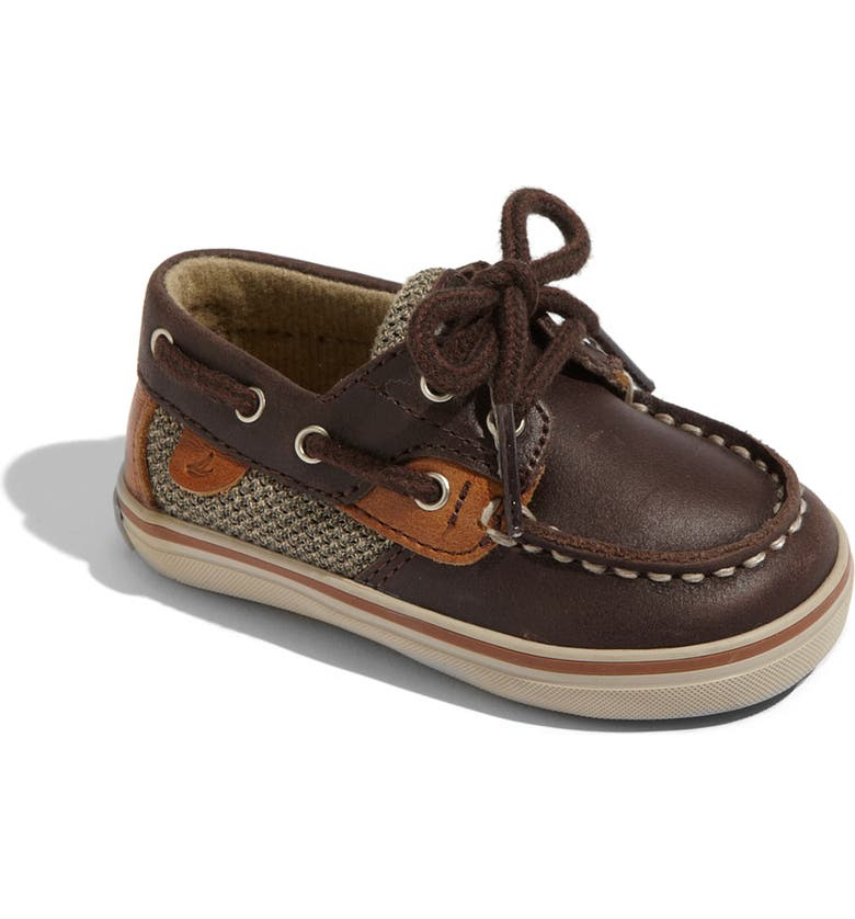 SPERRY Top-Sider<sup>®</sup> 'Bluefish' Crib Shoe, Main, color, 200
