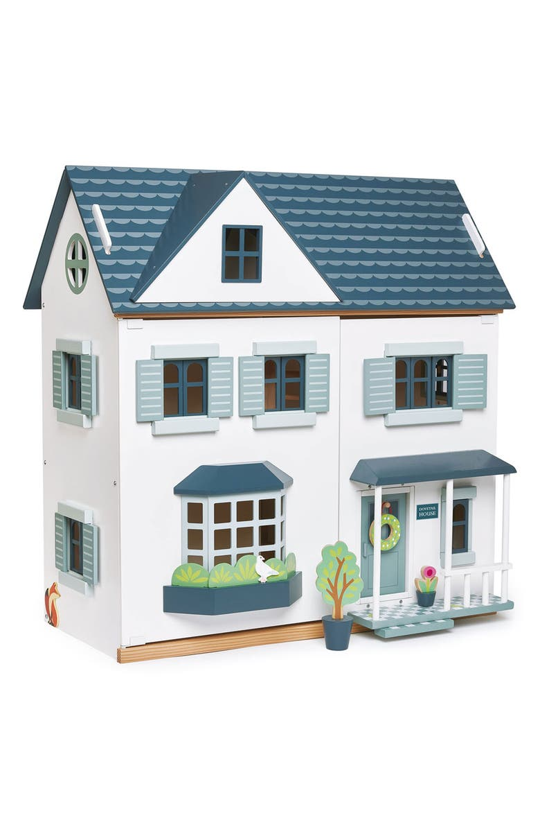 TENDER LEAF TOYS Dovetail Wooden Dollhouse, Main, color, 100