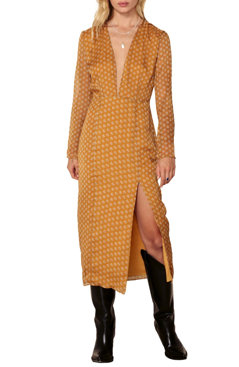 THE EAST ORDER Blaire Midi Dress, Main, color, 802