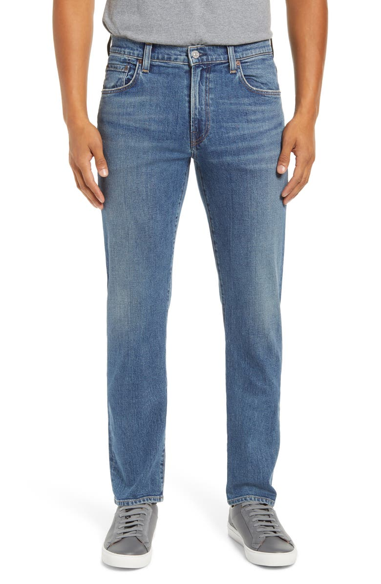 CITIZENS OF HUMANITY Gage Slim Straight Leg Jeans, Main, color, BLUE DAZE