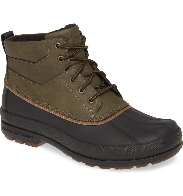 SPERRY Cold Bay Snow Boot, Main, color, OLIVE/ BLACK