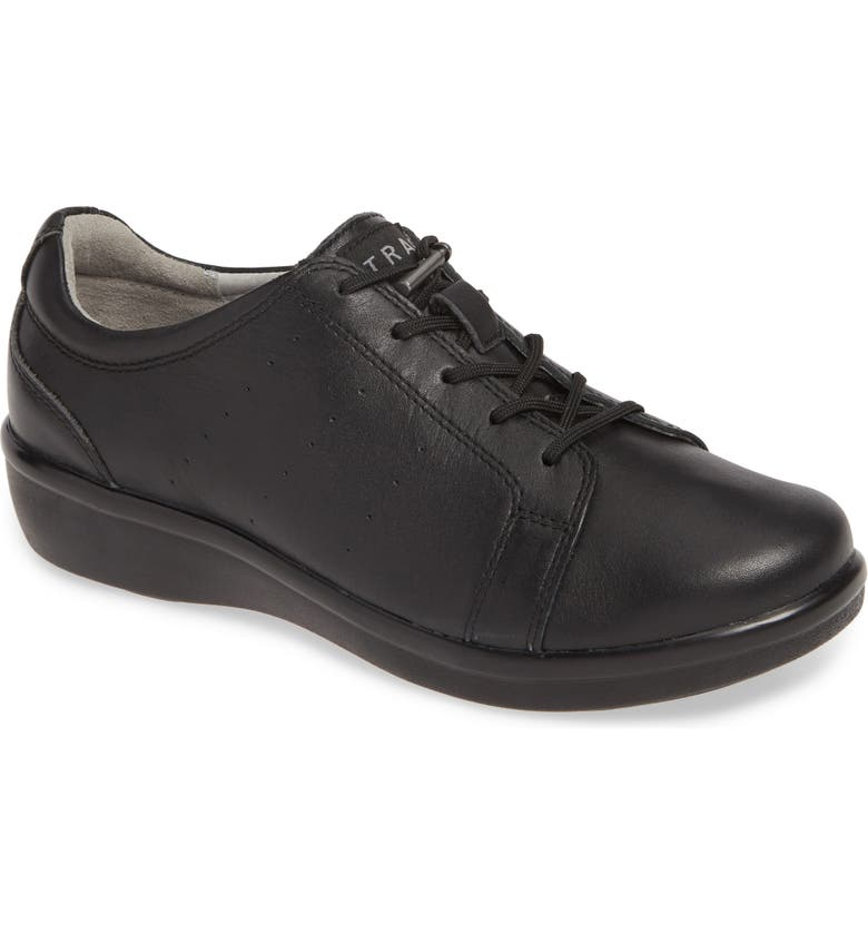 ALEGRIA Cliq Sneaker, Main, color, BLACK OUT LEATHER