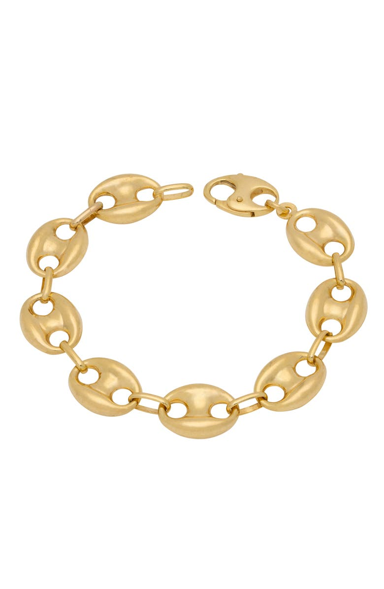 STEPHANIE WINDSOR Mariner Link Bracelet, Main, color, YELLOW GOLD