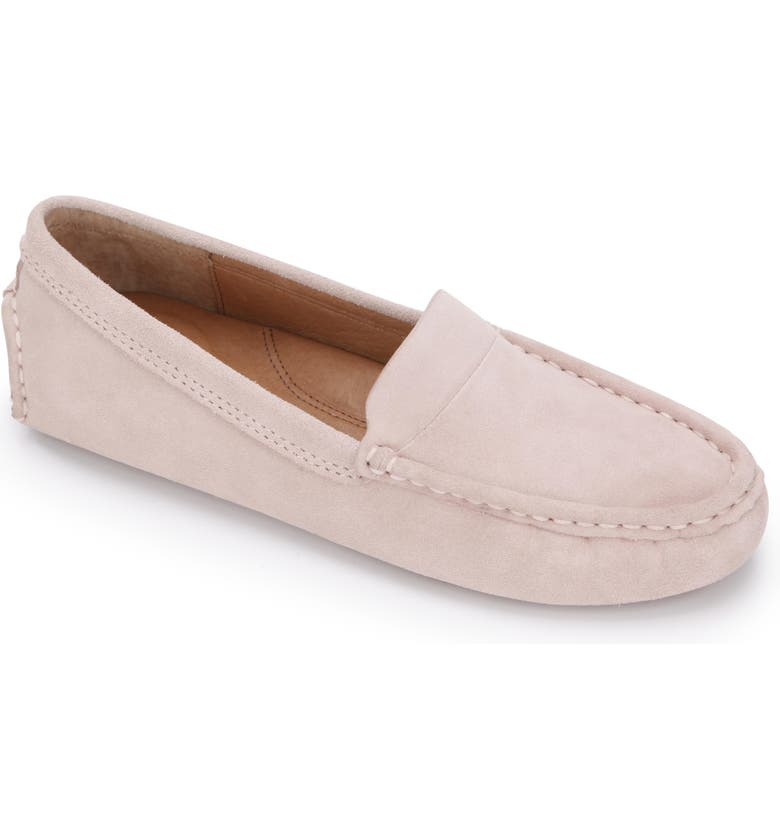 GENTLE SOULS BY KENNETH COLE Mina Driving Loafer, Main, color, PASTEL ROSE NUBUCK