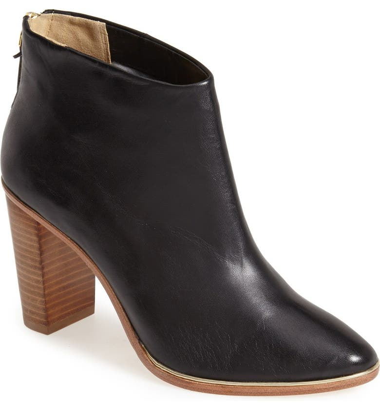 TED BAKER LONDON 'Lorca' Leather Bootie, Main, color, 001