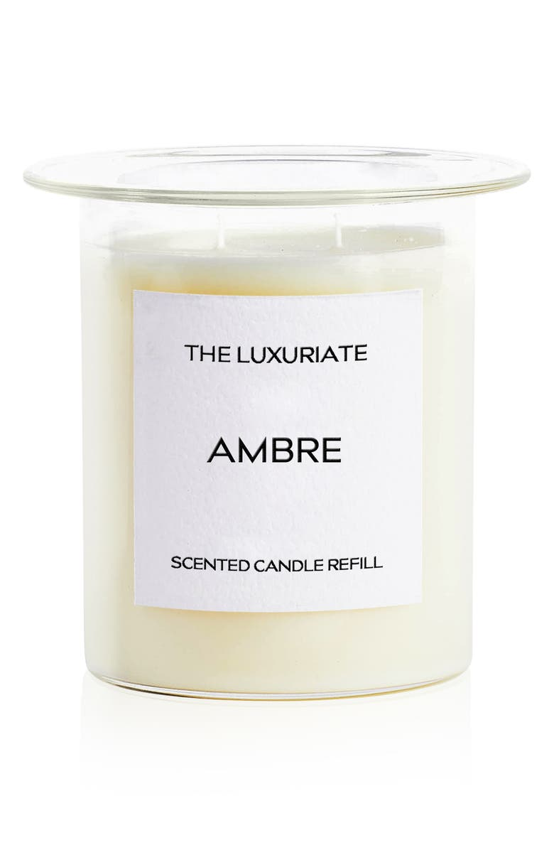 THE LUXURIATE Scented Candle Refill, Main, color, 900
