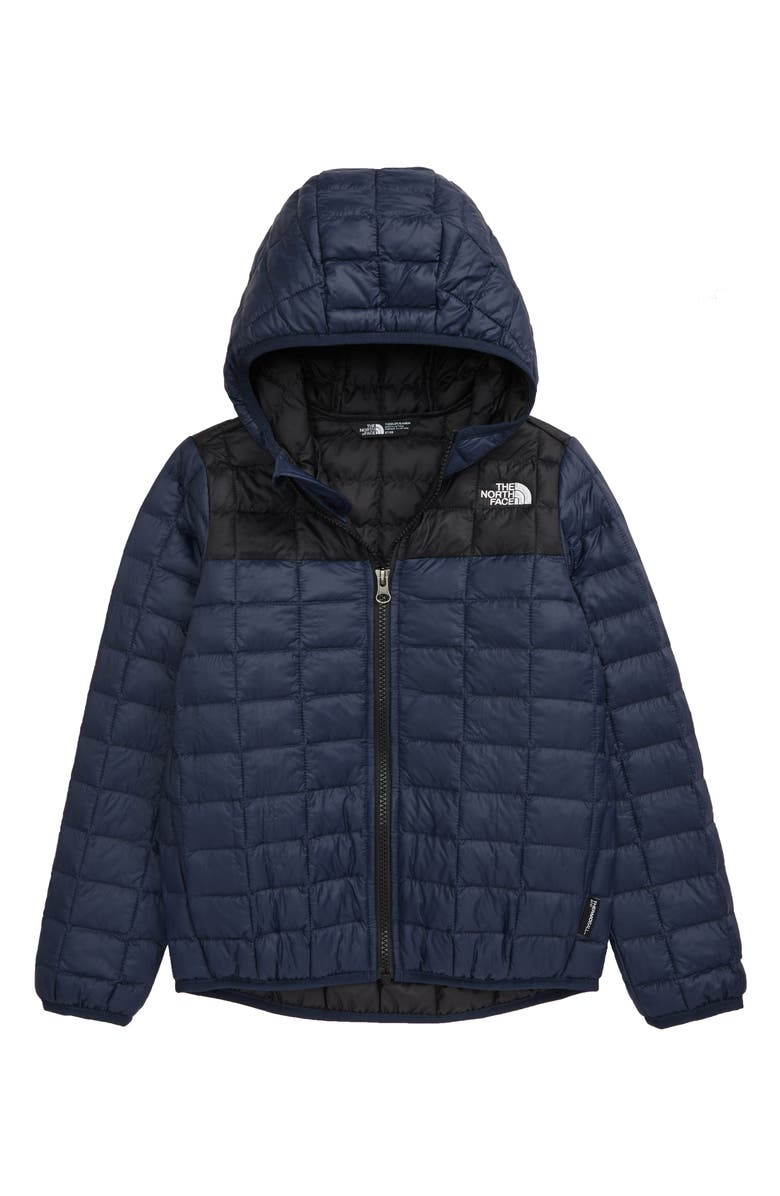 THE NORTH FACE Kids' ThermoBall<sup>™</sup> Eco Packable Jacket, Main, color, SHADY BLUE