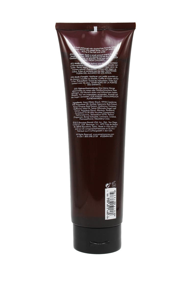 AMERICAN CREW Firm Hold Gel - 13.1 oz., Main, color, NO COLOR