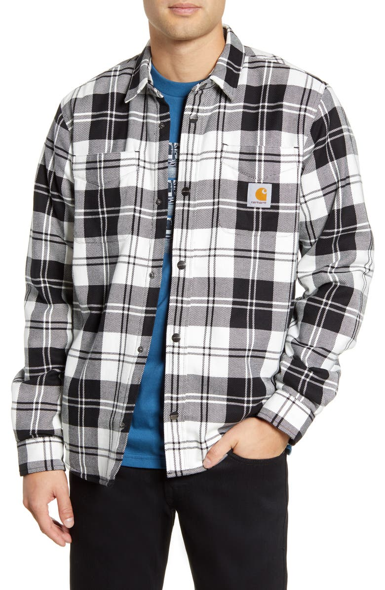 CARHARTT WORK IN PROGRESS Pulford Twill Shirt Jacket, Main, color, 100