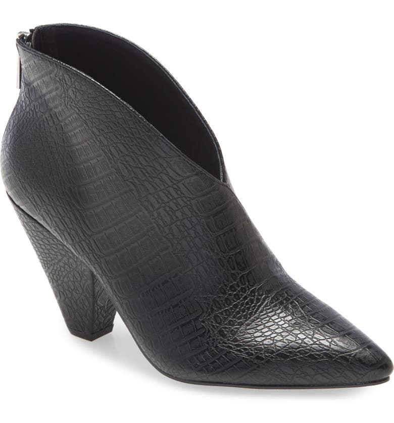 CHINESE LAUNDRY Rudie Bootie, Main, color, BLACK FAUX LEATHER