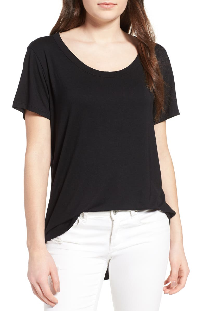 BP. Split Edge Tee, Main, color, 001