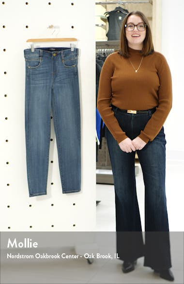 Gia Glider Slim Pull-On Jeans, sales video thumbnail