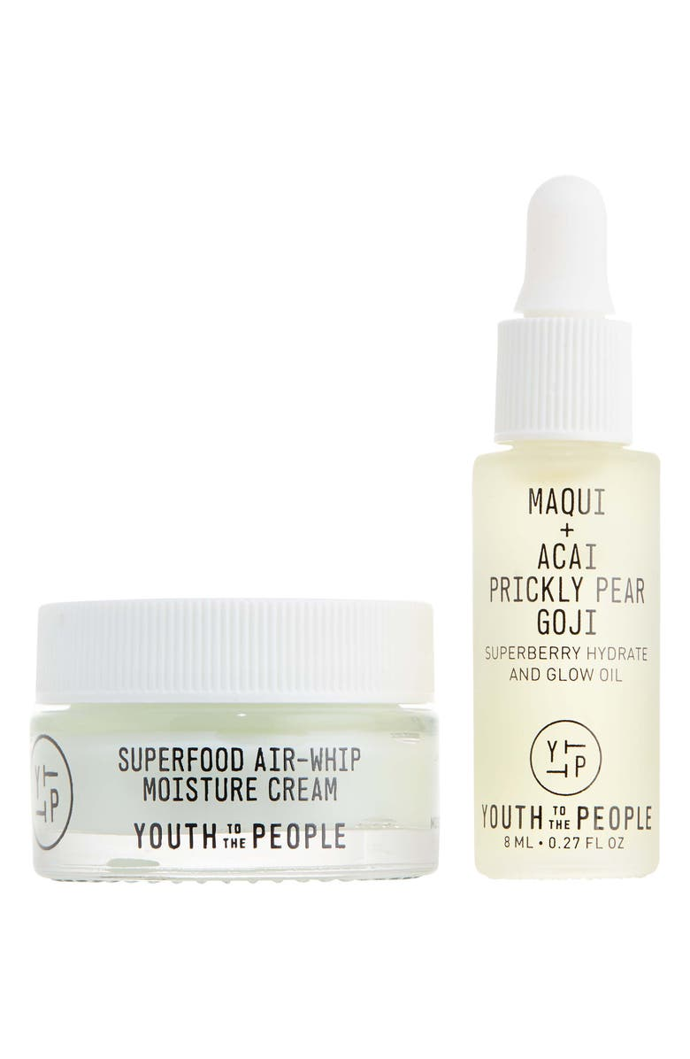 YOUTH TO THE PEOPLE Travel Size Plump It Up Set, Main, color, NO COLOR