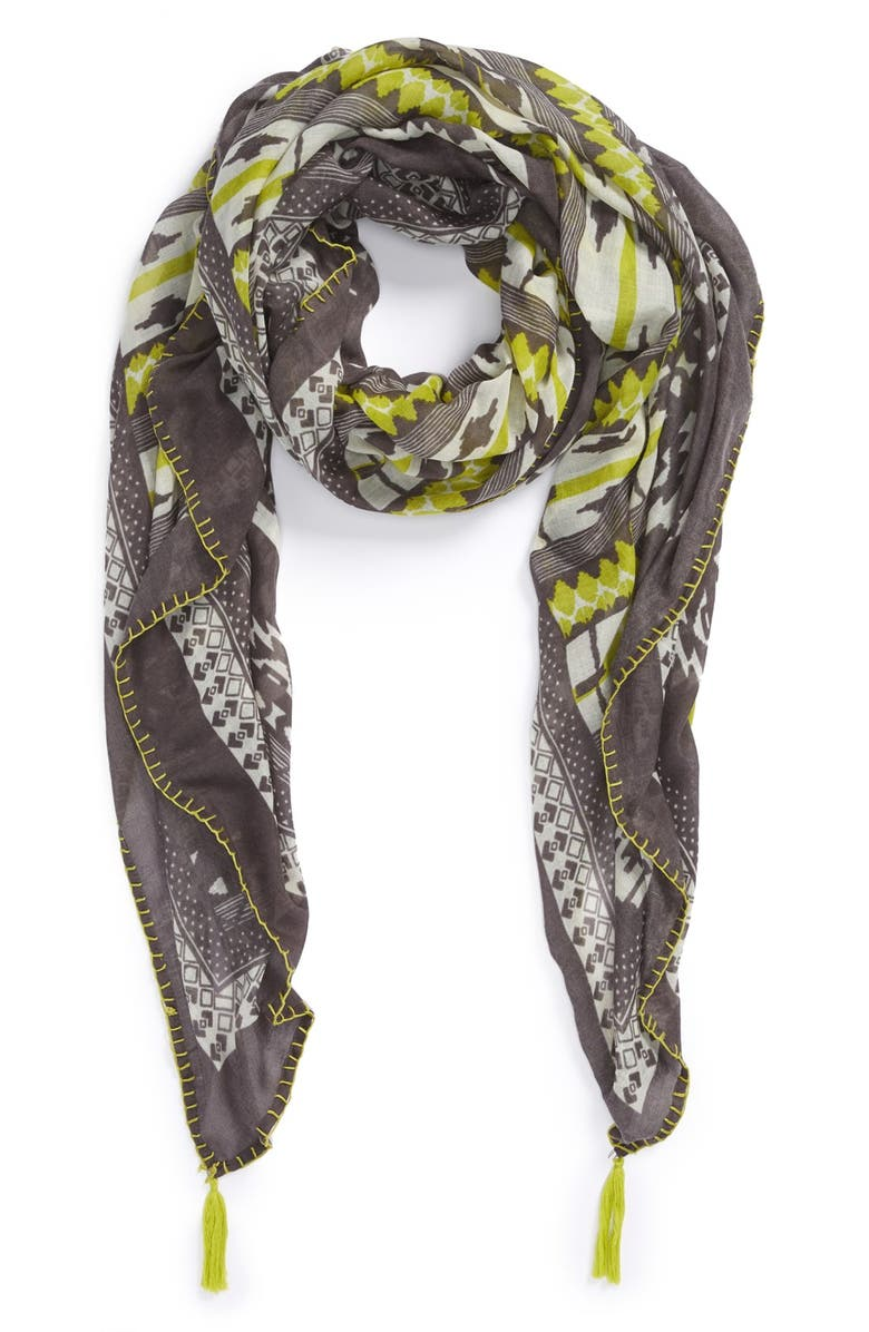 VINCE CAMUTO Graphic Print Wrap, Main, color, 020