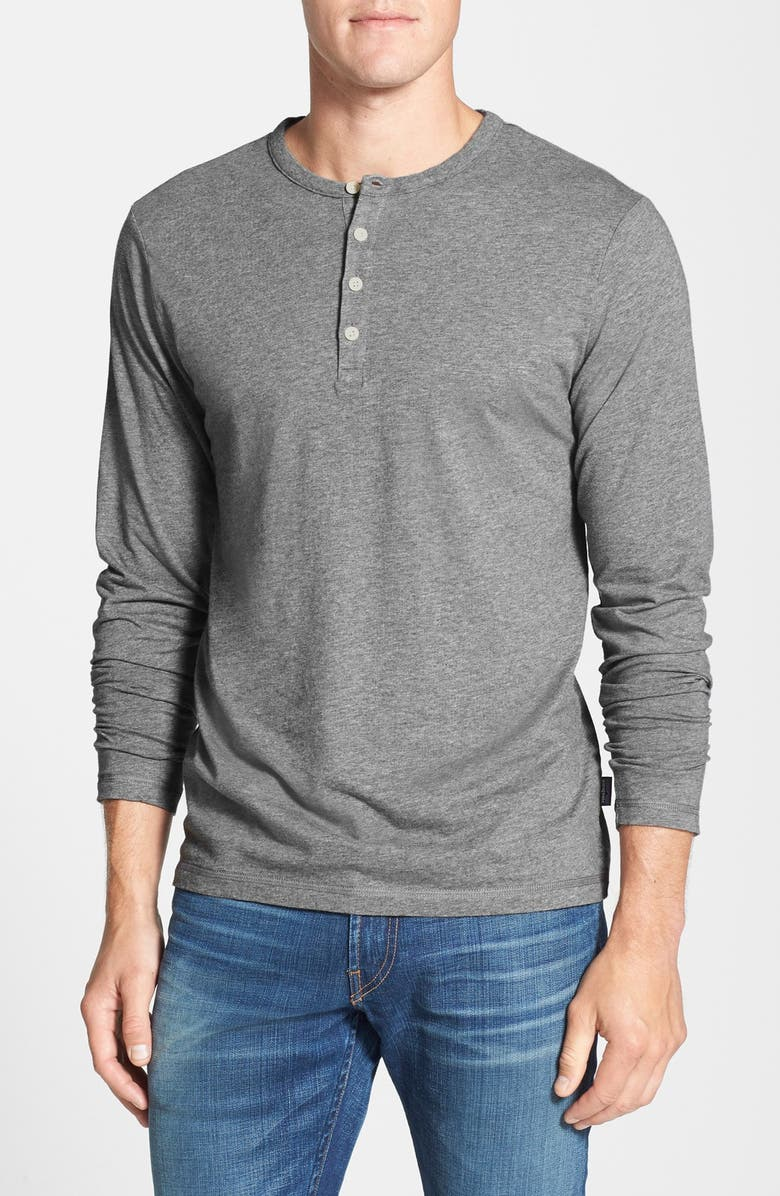 PATAGONIA Daily Long Sleeve Organic Cotton Henley, Main, color, 020