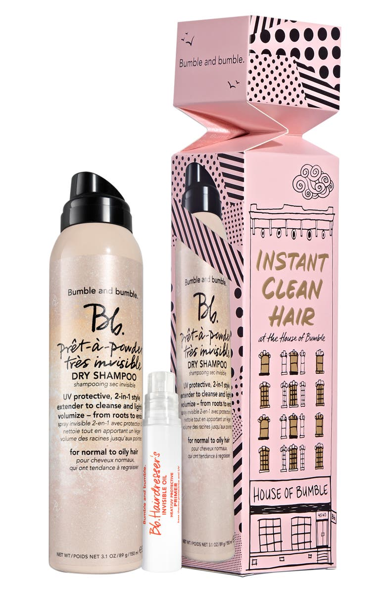 BUMBLE AND BUMBLE. Instant Clean Hair Set, Main, color, 000