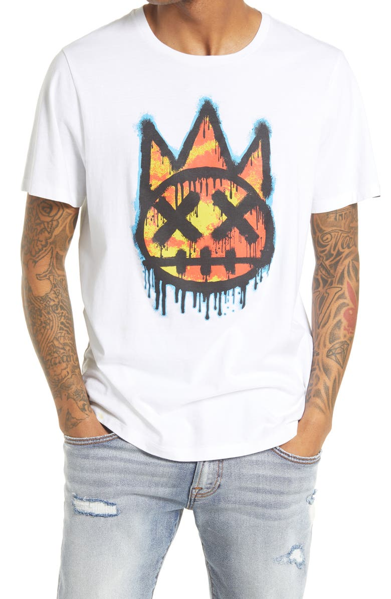 CULT OF INDIVIDUALITY Shimuchan Men's Graphic Tee, Main, color, White