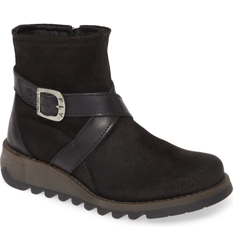 FLY LONDON Sake Bootie, Main, color, 001