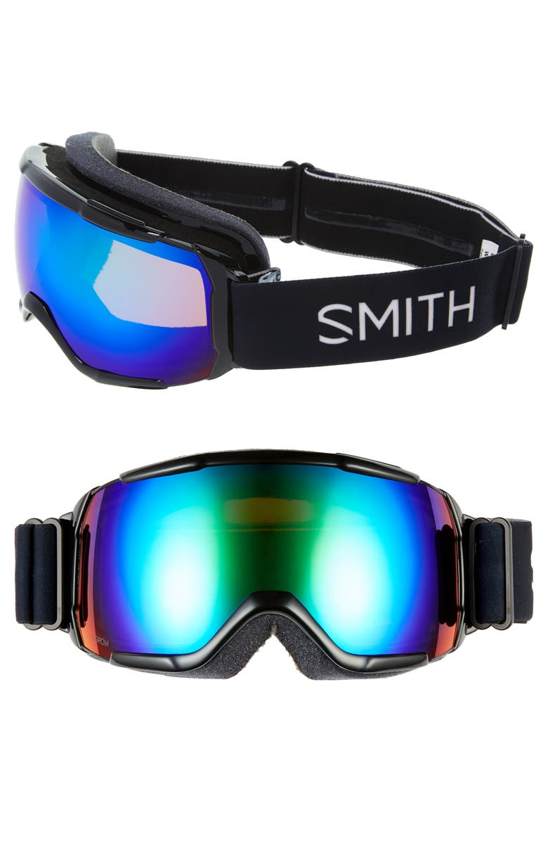 SMITH Grom Snow Goggles, Main, color, BLACK/ GREEN